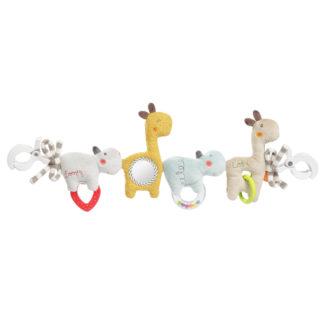 Kinderwagenkette Kinderwagenkette Kinderwagenkette Loopy & Lotta von babyFehn