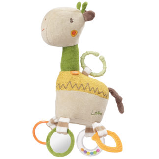Activity-Giraffe mit RIng