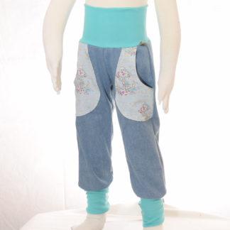"""Jeanshose mit bunten Taschen """"Anker"""""""