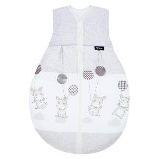 Alvi Molton Sommerschlafsack Kugelschlafsack Hippo