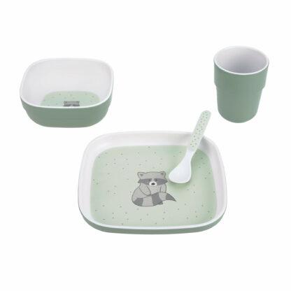 Kindergeschirr Set - Dish Set, About Friends Waschbär