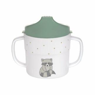 Trinklernbecher - Sippy Cup, About Friends Waschbär